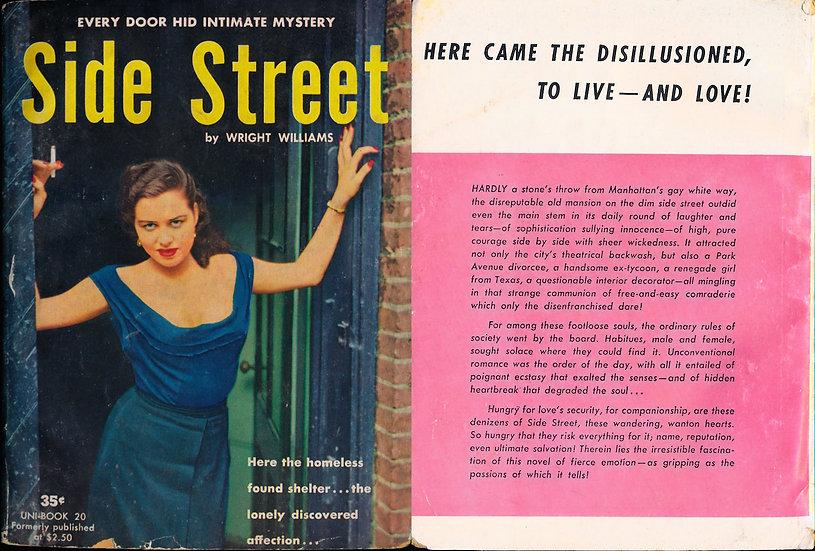 Side Street (Vintage Paperback, Jeanne Carmen cover model)
