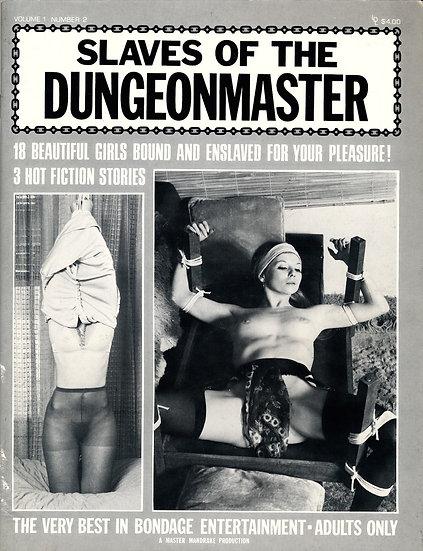 Slaves of the Dungeonmaster (Vintage adult magazine, Serena Czarnecki, 1976)