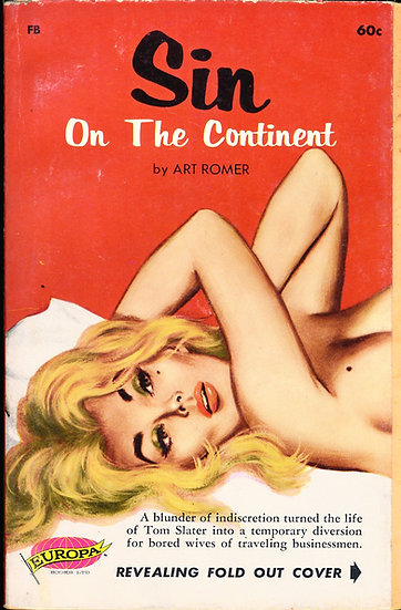 Sin on the Continent (First Edition, Bill Edwards cover art)