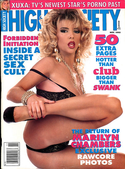 High Society (Vintage adult magazine, Candi Cripe feature, 1993)