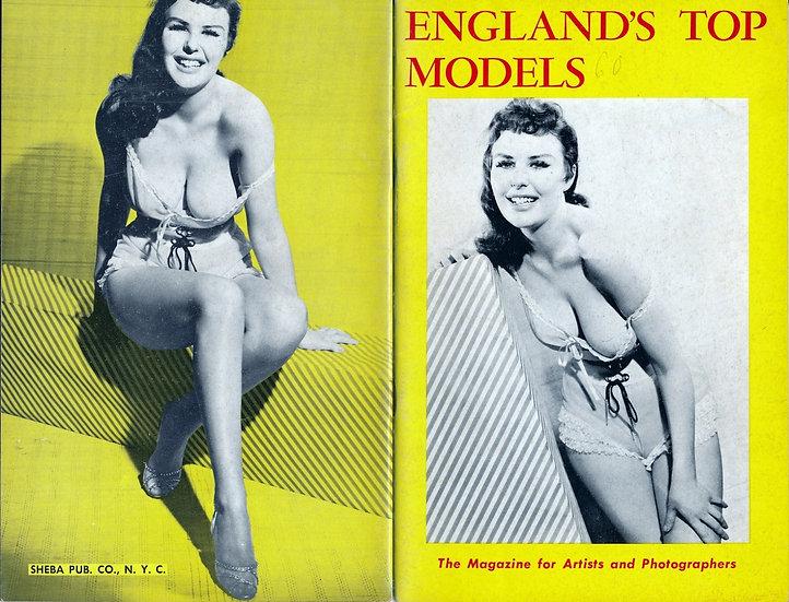 England's Top Models (vintage pinup digest magazine, 1950s)