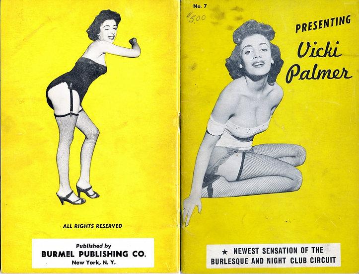 Presenting: Vicki Palmer (vintage adult pinup digest magazine, 1950s)