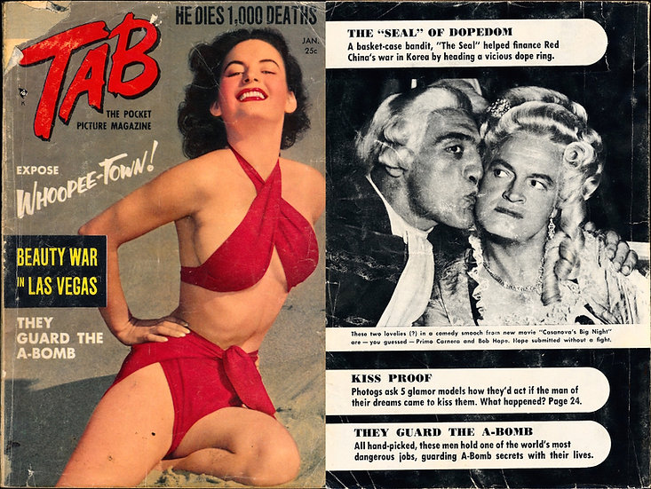 Tab [The Pocket Picture Magazine] (Vintage digest pinup magazine, 1954)