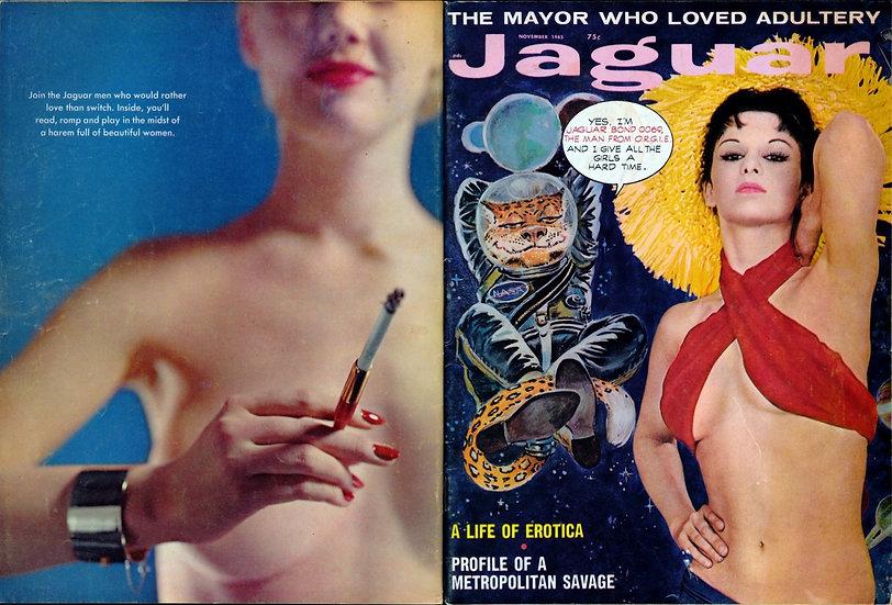 Jaguar (Vintage adult magazine, 1965)