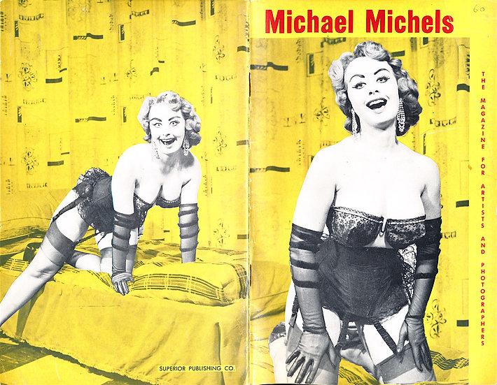 Michael Michels [Michel Michaels] (vintage pinup digest magazine, 1950s)