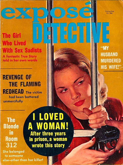 Expose Detective (Vintage true crime magazine, Dec 1967)