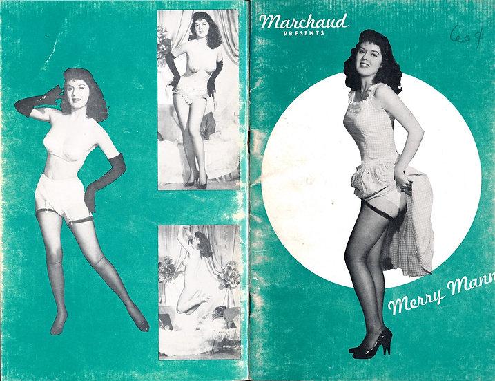 Marchaud Presents: Merry Mann (vintage pinup digest magazine, 1950s)