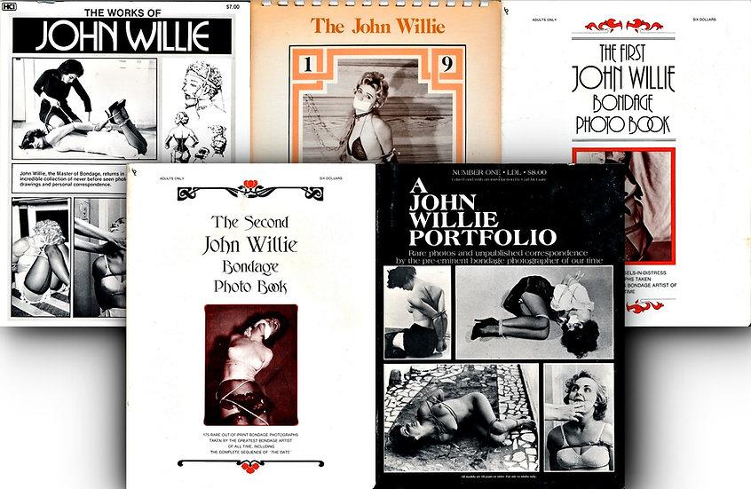 Portfolio, and Bondage Photo Book (4 Vintage magazines, 1 calendar)