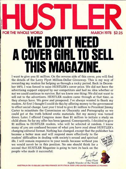 Hustler (Vintage adult magazine, 1978)