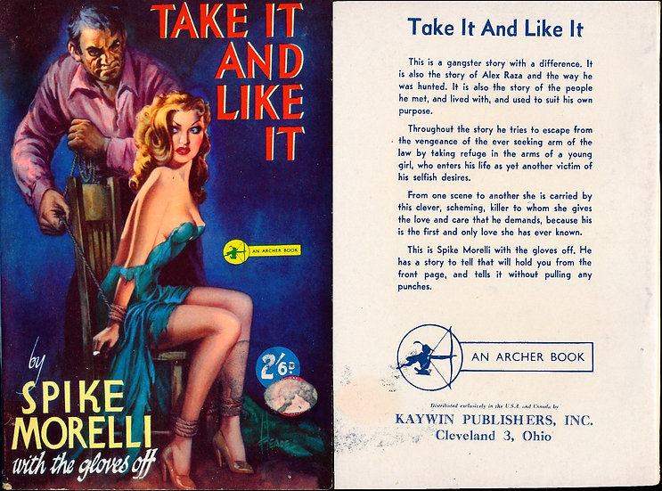 Take It and Like It (Vintage digest paperback, 1951)