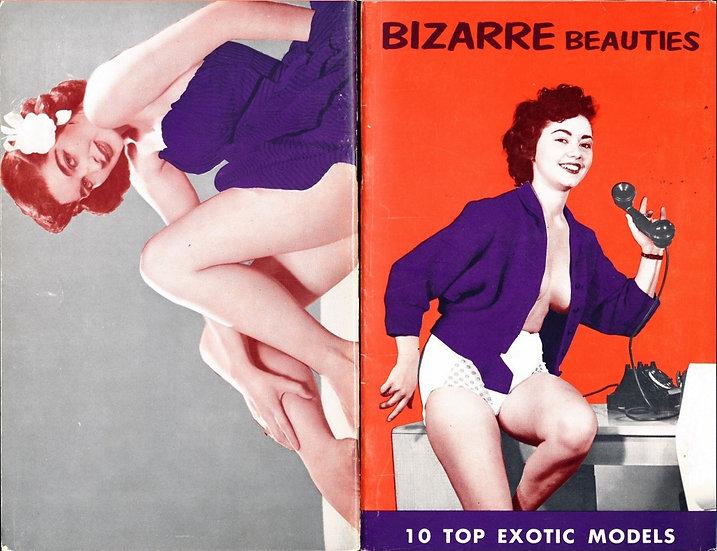 Bizarre Beauties (vintage pinup digest magazine, 1950s)