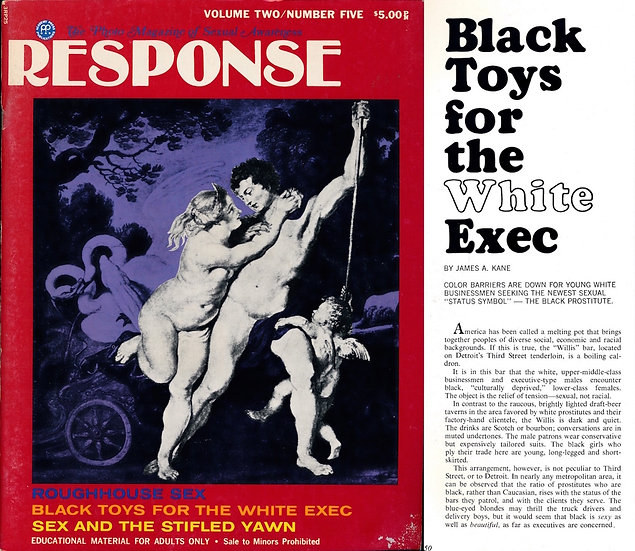 Response [The Photo Magazine of Sexual Awareness] (Vintage adult magazine, 1972)