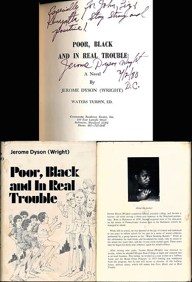 Poor, Black and in Real Trouble (Signed First Edition)