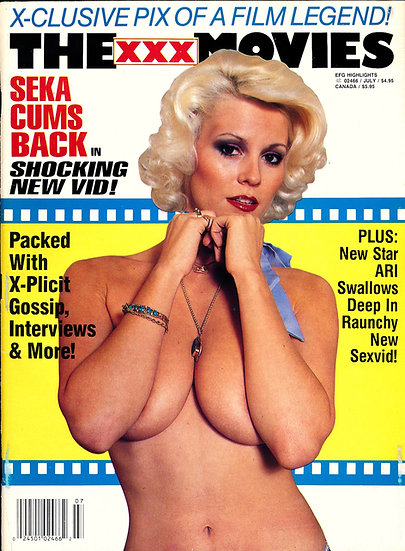 The XXX Movies [Erotic X-Film Guide] (Vintage adult magazine, Seka, 1993)