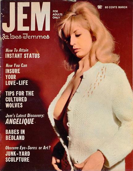 Jem (Vintage adult magazine, 1967)