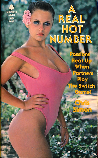 A Real Hot Number (Vintage adult paperback, Joanne Latham front cover, 1981)