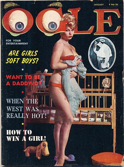 Ogle, Volume 1 Number 6 (Vintage Magazine, Terry Higgins cover model)