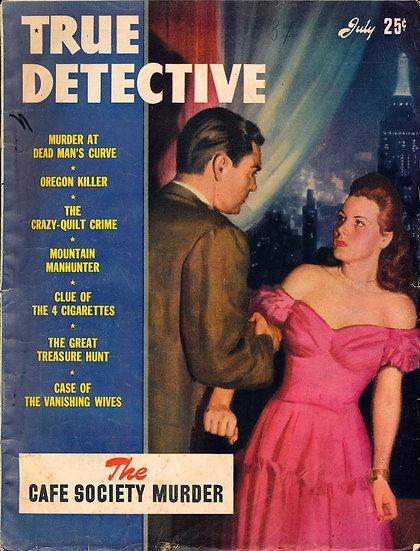 True Detective (Vintage crime magazine, Jul 1945)