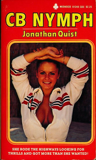 CB Nymph (Vintage adult paperback, Joanne Latham front cover, 1979)