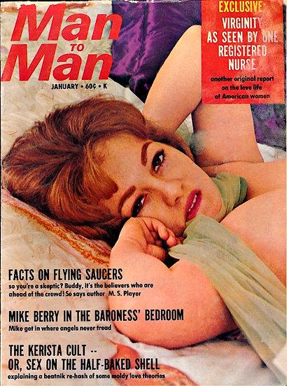 Man to Man (vintage adult magazine, January 1967)