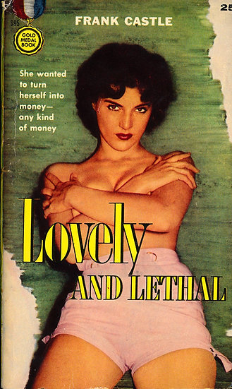 Lovely and Lethal (Vintage paperback, Jean Jani cover)