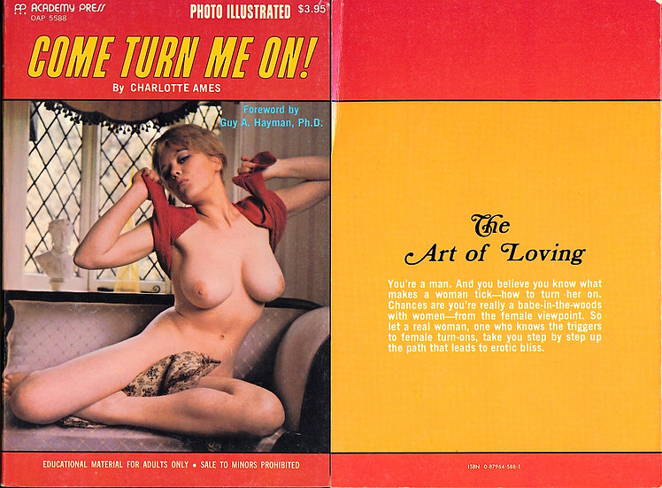 Come Turn Me On! (Vintage Paperback, Margaret Nolan cover model, 1974)