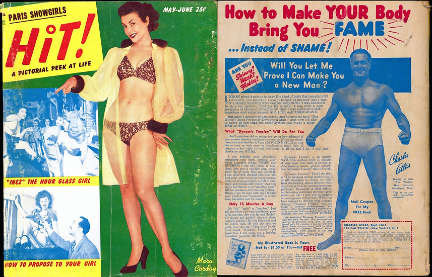 Hit! (Vintage pin-up magazine, May-Jun 1952)