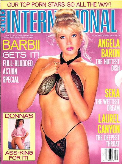 Club International (Vintage adult magazine, 1988)
