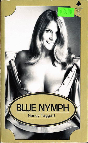 Blue Nymph (Vintage adult paperback, Uschi Digard cover, 1971)