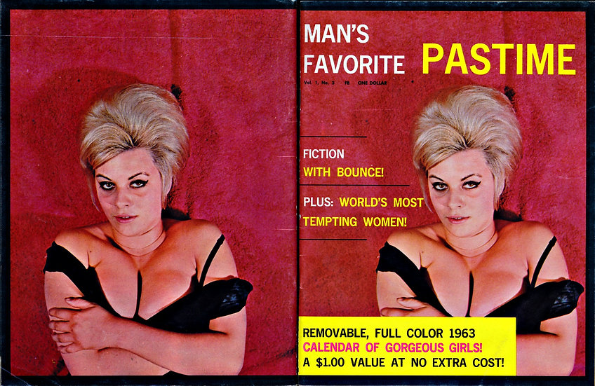 Man's Favorite Pastime (Vintage adult magazine, 1962)