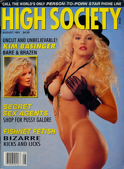 High Society (Vintage adult magazine, 1991)