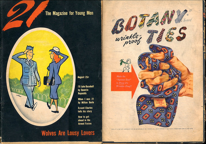 21 [The Magazine for Young Men] (Vintage digest magazine, 1951)