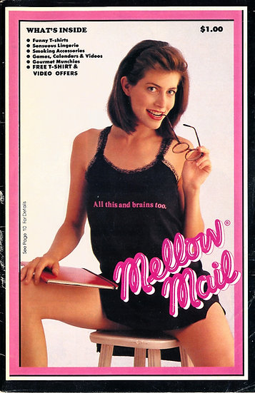 Mellow Mail (Vintage adult mail-order catalogue, 1980s)