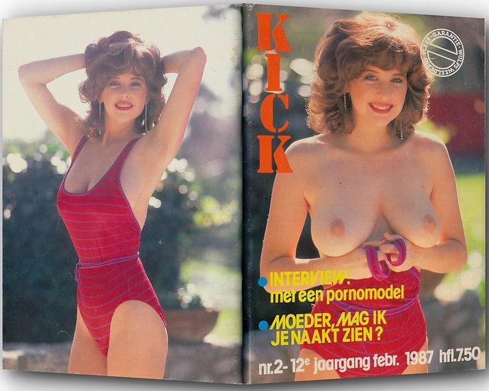 Kick (Vintage adult magazine, 1987)