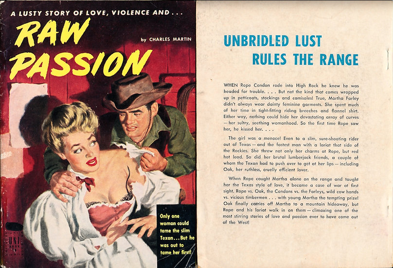 Raw Passion (First Edition)