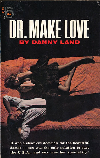 Dr. Make Love (First Edition, Michelle Angelo cover model)