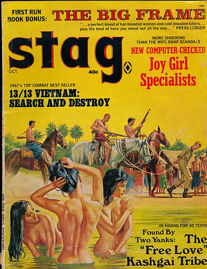 Stag (Vintage adventure magazine, Oct 1967)