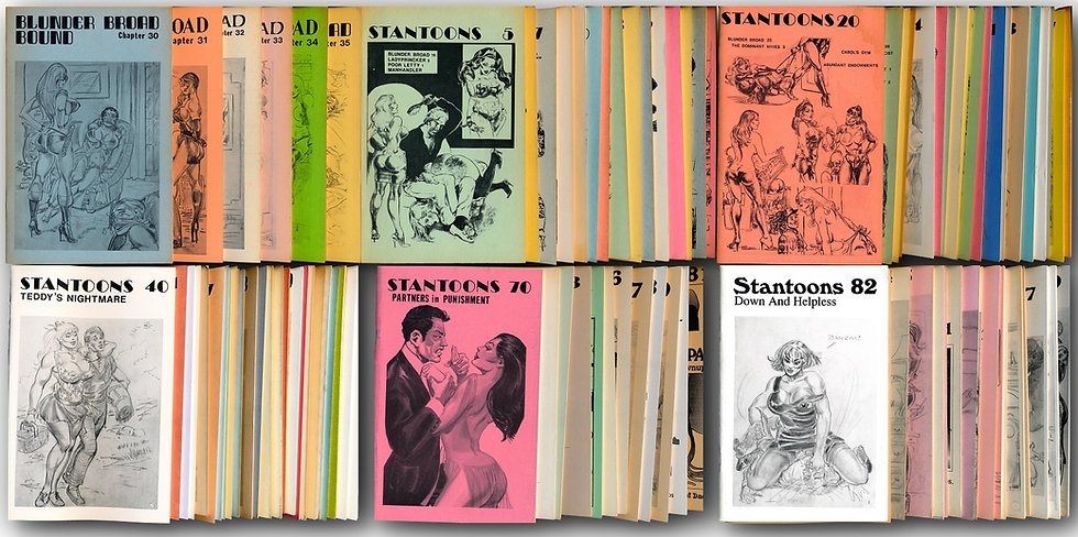 Stantoons and Blunder Broad (Collection of 98 digest magazines, 1984-96)