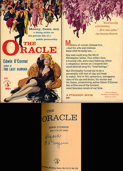 The Oracle (Vintage paperback, signed by Robert Maguire)
