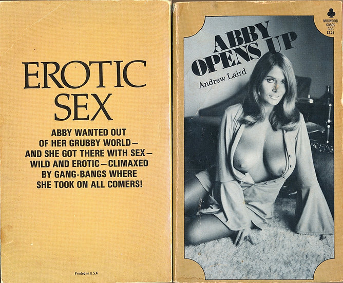 Abby Opens Up (First Edition, Uschi Digart cover, 1973)