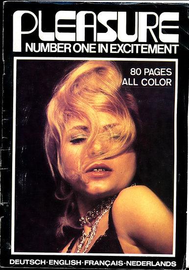 Pleasure: Number One in Excitement (Vintage adult digest magazine, 1976)