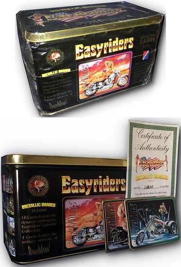 Easyriders Collectors Cards: Metallic Images, Series 1 (Vintage trading cards, b