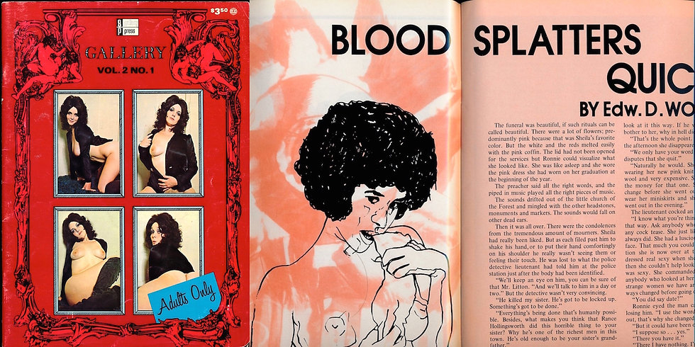 Gallery (vintage adult magazine, 1973)