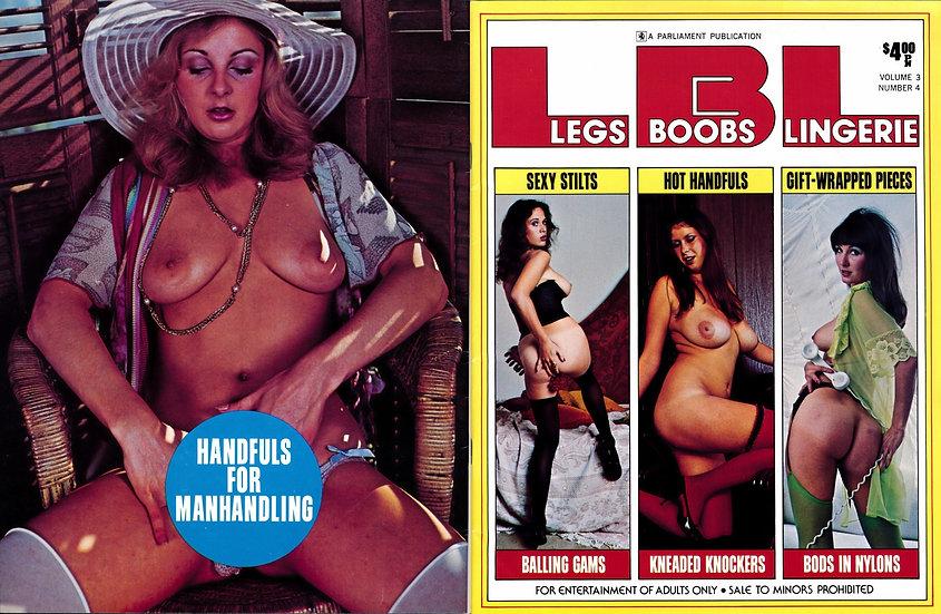 Legs, Boobs, Lingerie (Vintage adult magazine, Joyce Spaeth cover, 1976)