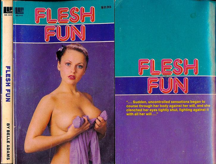 Flesh Fun (Vintage adult paperback, Joanne Latham Front Cover, 1980)