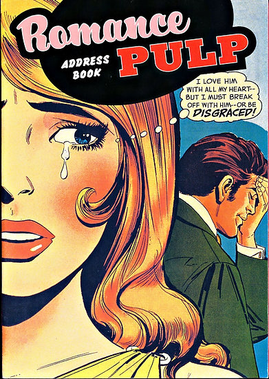 Romance Pulp (Vintage blank address book, 2005)