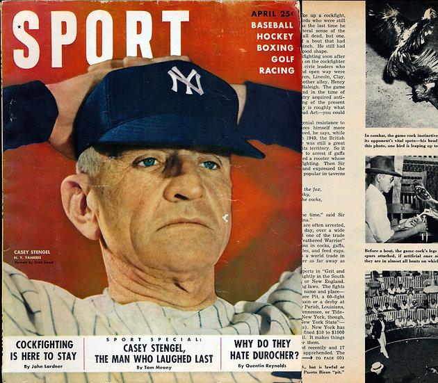 Sport (Vintage sports magazine, Apr 1950)