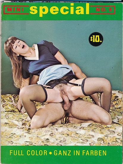 Color Climax: Mini Special (Vintage Danish adult digest magazine, 1960s)
