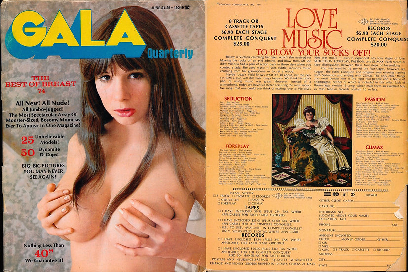 Gala [Quarterly] (Vintage adult magazine, Jun 1974)