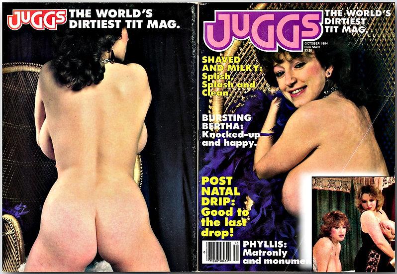 Juggs Magazine (Vintage adult magazine, October 1984)